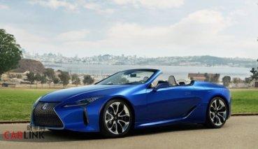 敞篷GT新選擇即將登台!LEXUS LC Convertible宣告8月18日上市