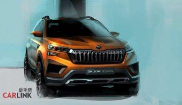 印度專屬 ŠKODA Vision IN 二月車展現身
