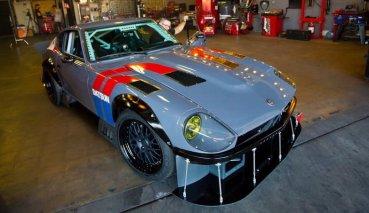 「惡魔Z」美式分身!Datsun 240Z罕見V8大心臟版