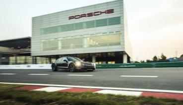 Porsche純電跑車Taycan原型車在亞洲首度現蹤!