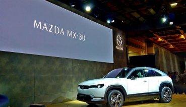 【東京車展】Mazda MX-30不是敞篷車,就是先前預告的品牌首款電動車