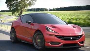 Ferrari若推出小型掀背車 感覺好像很可以耶!