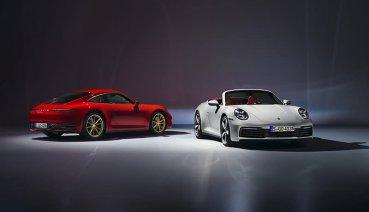 580萬起,Porsche正式推出全新911 Carrera 及911 Carrera Cabriolet,台灣同步開始預接單!