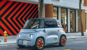 Citroen Ami純電代步車法國發表上市,共享汽車取代大眾運輸較通工具
