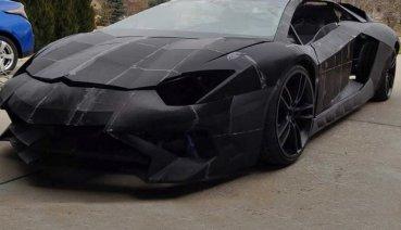 喜歡什麼爸爸買給你,爸,我想要一輛 Lamborghini Aventador,父用3D列印完成兒夢想