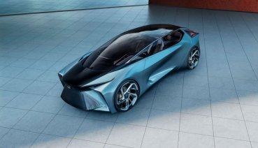 【東京車展】Lexus LF-30電動概念車演示2030年未來車的可能樣貌