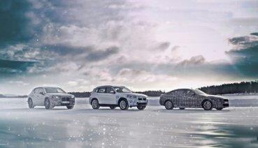 在極地測試電動性能,BMW i4、iNEXT與iX3 2021年登場!