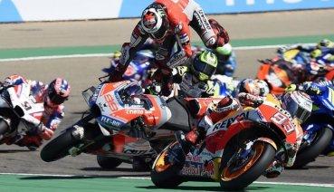 MotoGP戰報 亞拉岡站:Marquez即將提前封王,Lorenzo胎還沒熱就掰掰