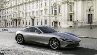 全新躍馬Ferrari Roma閃耀羅馬,完美演繹義式生活享受