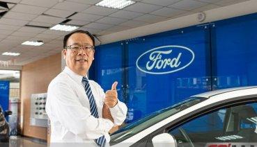 """[榮耀之星]凡事交給我""""百面""""妥當,客戶的笑臉就是我的目標!Ford三重-顏士雄"""