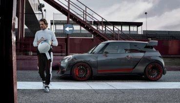 就是愛賽車!法蘭克福車展Mini推出JCW GP Concept搶鏡頭
