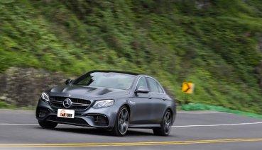 高性能卻不房車,Mercedes-AMG E63 4MATIC+挑戰你對房車的定義