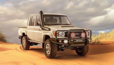 為世界留些老味道─Toyota在南非推Land Cruiser 79 Namib特式版