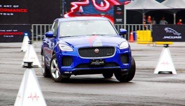 這次要考你聰不聰明?2019 Jaguar The Art of Performance Tour極限駕馭體驗會首度引進「Smart Cone智慧三角錐挑戰」(影片)