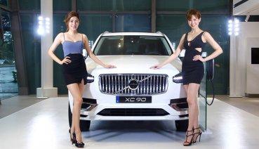 台北世界新車大展,Volvo全新小改款XC90引領PHEV全車系耀眼登場