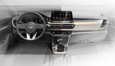 看完外觀設計草圖換看內裝,Kia全新小型跨界休旅座艙曝光