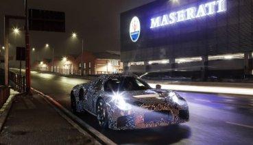 Maserati 100%開發跑車現身,預告2020年5月發表亮相