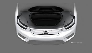 Volvo XC40電動車看到臉囉