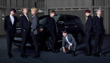 「BTS防彈少年團」擔任Hyundai Palisade全球品牌形象大使