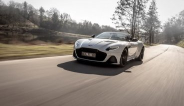 美型英倫紳士Aston Martin DBS Superleggera Volante敞篷版現身!