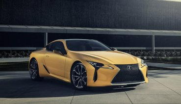 【2019芝加哥車展】黃金戰甲上身,Lexus 2019 LC 500 Inspiration Edition限量登場