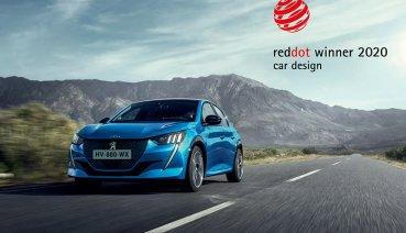 Peugeot 208又得獎了,這回與兄弟2008同獲2020紅點設計獎!