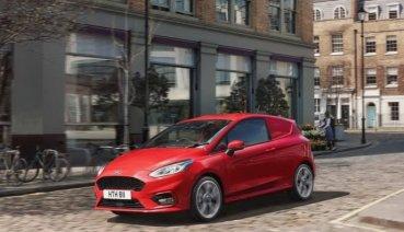 看看國外的小貨車有多帥! Ford推出Fiesta商用載貨版!