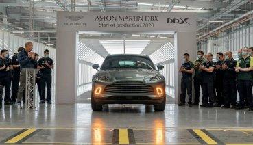 歷經一番波折! Aston Martin DBX首部量產車終於下線