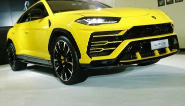維持999.89萬,野蠻牛Lamborghini Urus首度在台亮相!