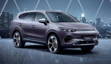 真的不是抄襲 而是有賓士血統的中國製電動車Denza X