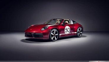 保時捷首款Heritage Design鉅獻 致敬經典:911 Targa 4S Heritage Design Edition