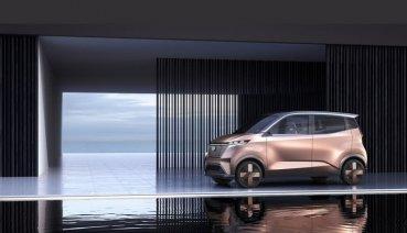 Nissan未來世代電動概念車IMk Concept,預告東京車展亮相