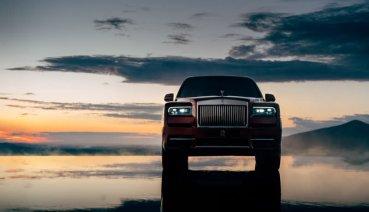 鑽王終現身!Rolls-Royce Cullinan正式亮相