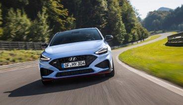 Hyundai小改i30 N搭八速雙離合器自手排強悍登場