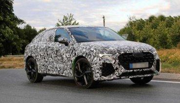 才剛公佈Audi Q3 Sportback,RS Q3 Sportback已經在披覆偽裝測試