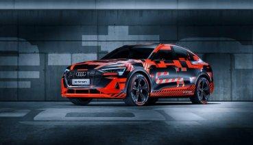 將於洛杉磯車展登場的Audi e-tron Sportback無偽裝現身