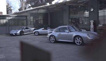 三大經典齊聚頭! Porsche替三款經典跑車拍攝生日影片