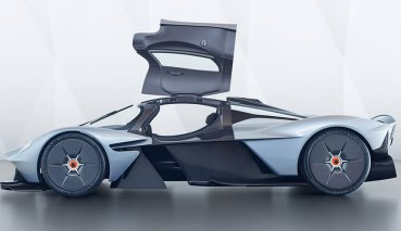 Aston Martin Valkyrie原型超跑最快年底上路!