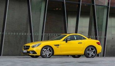 Mercedes-Benz SLC Final Edition將以專屬車色紀念此車的最後身影