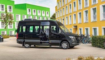 Mercedes-Benz正式發表新的Sprinter小型巴士系列車款!