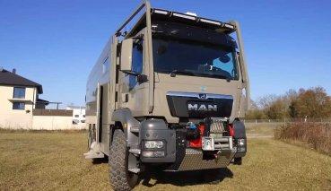 Unicat再次推出一輛能征服所有地形的越野露營車