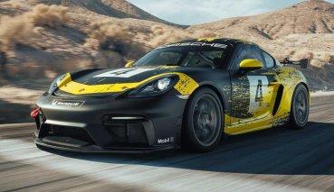賽道專用!Porsche 718 Cayman GT4 Clubsport登場