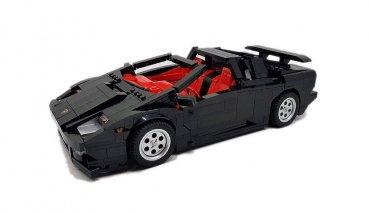 想看到Lego的Lamborghini?若獲得足夠的支持就有機會看到這輛Diablo上市!