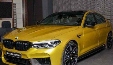 Austin Yellow車色讓BMW M5 Competition像是超跑般的亮眼