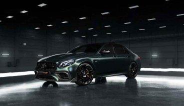 Fostla+Brabus+Mercedes-AMG E63=超跑房車