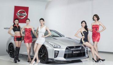 2020世界新車大展 NISSAN GIRLS時尚名模亮眼登場  本次主打「技術日產,智行未來」品牌內涵