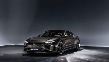 Audi e-tron GT卸下偽裝!LA車展初露鋒芒