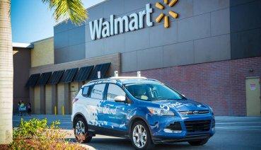 福特與沃爾瑪超市合作推出「自駕買菜車」!