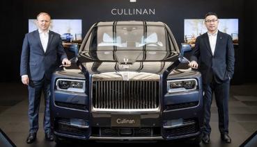 售價2188萬起 Rolls Royce首款SUV車款Cullinan正式上市