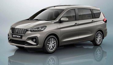 Suzuki也有7人座MPV? Ertiga改款現身!